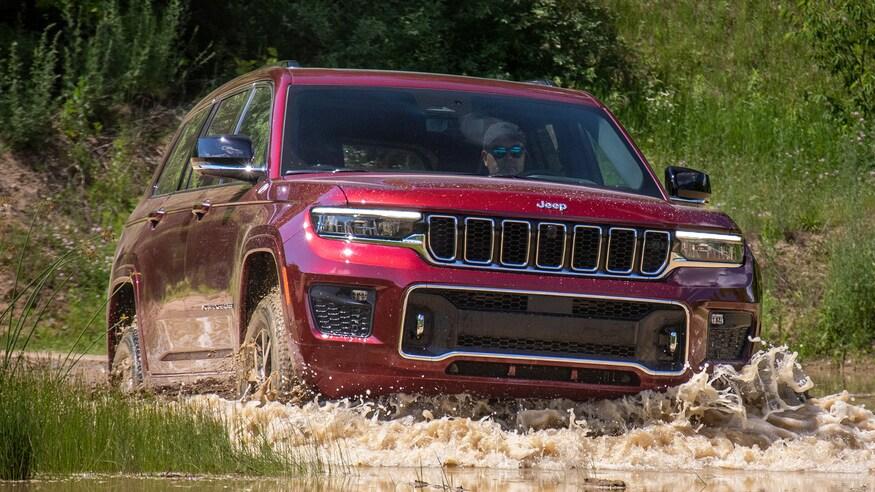 2021 Grand Cherokee L First Drive