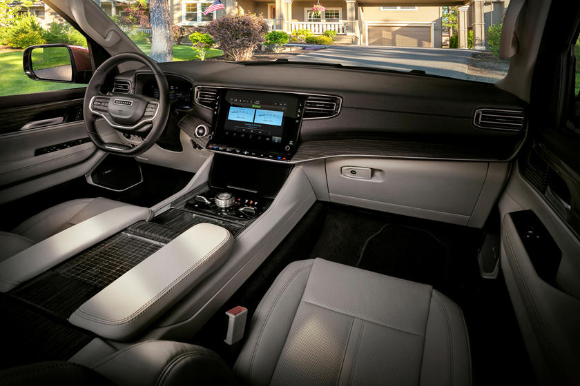 2022 Wagoneer Console View